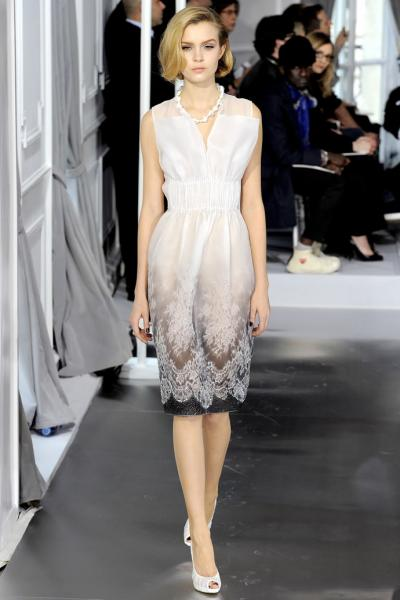 прозрачное платье лето 2012