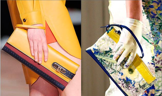 модные клатчи весна-лето 2012
