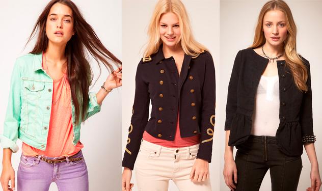 модные джинсовые куртки 2012