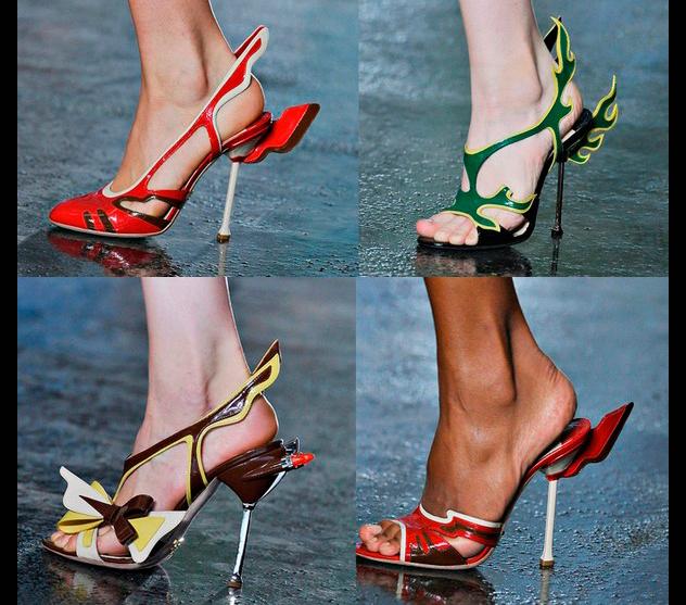 обувь в стиле ретро