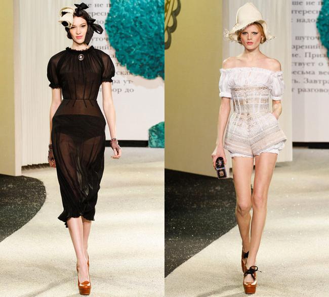 Ulyana Sergeenko коллекция одежды 2013