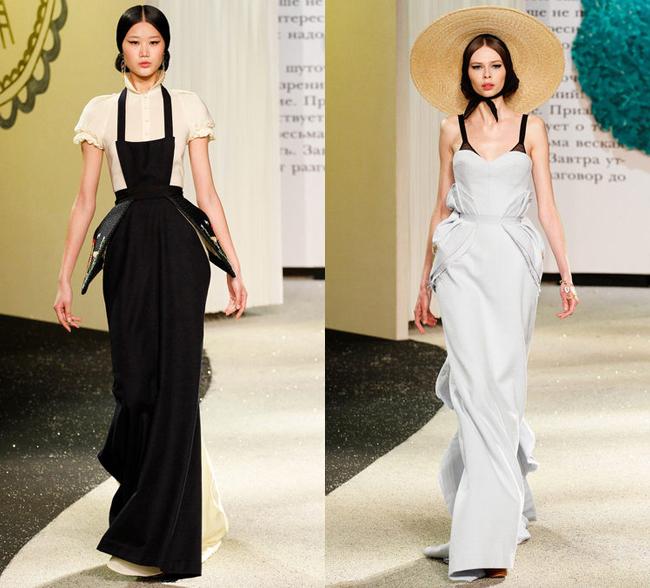 Ulyana Sergeenko новая коллекция 2013 в Париже