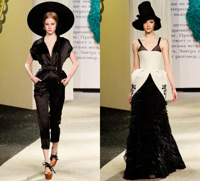 Ulyana Sergeenko новая коллекция одежды 2013 в Париже